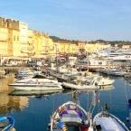 Saint-Tropez, son port et son marché