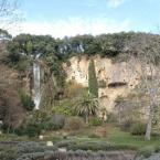 Cascade, jardin et grotte de Villecroze dans le Var