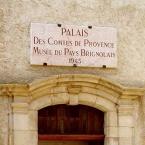 Musée du Pays Brignolais dans l'ancien Palais des Comtes de Provence