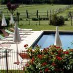 La piscine d'eau salée du Domaine de la Gravière dans le Var