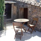 Gite ste-Victoire, espace extérieur aménagé