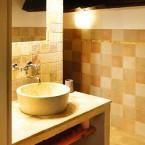 Gite ste-Victoire la salle d'eau décor naturel