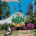 Parc aventure l'Aoubré de Flassans sur Issole dans le Var