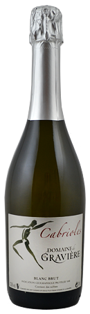 Vin mousseux brut Cuvée Cabriole, du Domaine de la Gravière