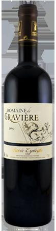 Vin rouge IGP Cuvée Espiègle, du Domaine de la Gravière